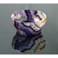 A new vein of Blue John (a semi precious British stone), just discovered in Derbyshire: http://www.bbc.co.uk/news/uk-england-derbyshire-23559735 Blue John bowl - from Blue John Cavern in Darbyshire, England