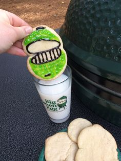 See how to make the most EGGcellent Holiday Cookies on the Big Green Egg!