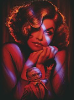 Audrey Horne; this is spectacular. This show scares the shit out of me. Gotta love twin peaks.