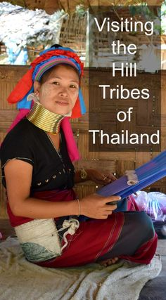 Visiting the hill tribes of Thailand, including the Long Kneck Karen. Travel and family travel in Thailand via @worldtravelfam/