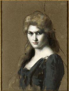 Thérèse Bianchi by Jean-Jacques Henner, c. 1889