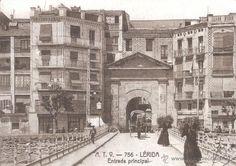 1900 - 1907 ENTRADA A LA CIUTAT, A.T.V. - 756 LÉRIDA - ENTRADA PRINCIPAL