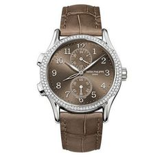 Patek Philippe Calatrava Travel Time Diamonds WG WoWatch 7134G-001