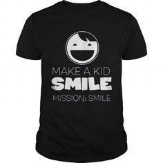 MAKE A KID SMILE T-SHIRTS, HOODIES, SWEATSHIRT (22.99$ ==► Shopping Now)