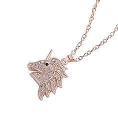 Amazon.com: Crystal Unicorn Pendant Necklace Fashion Jewelry Gifts for Girls Women 2 Styles (Rose Gold-tone): Jewelry Fashion Jewelry Necklaces, Fashion Necklace, Jewelry Gifts, Unicorn Necklace, Gifts For Girls, Rose Gold, Pendant Necklace, Amazon, Crystals