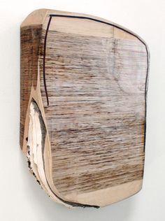 """Sunken Foundation,  mixmedia on birch & alder, 24x33x6"""""""