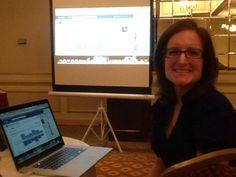 Social media training with @ruthcarlson at #EagleCouncil2012