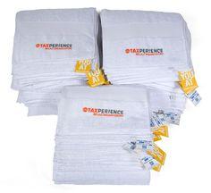 Handdoeken voor Taxperience Belastingadviseurs.