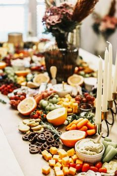 The perfect charcuterie board! An artful arrangement of meat, cheese and veggies makes for an elegant and impressive way to feed a crowd. Charcuterie Display, Charcuterie Spread, Charcuterie Board, Burnt Orange, Crowd, Veggies, Baby Shower, Treats, Cheese