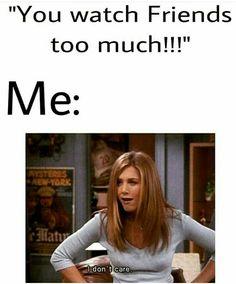 I don't care...huh