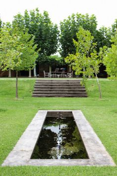 The fountain and plane trees were part of Annie Wilkes's garden design - Australia