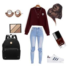 """""""Untitled #50"""" by chett3576 on Polyvore featuring adidas, Elizabeth Arden, Lonna & Lilly and Chanel"""