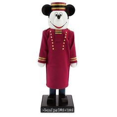 Pin for Later: 67 Gifts For Disneyland Fanatics Disney Mickey Mouse Hollywood Tower Hotel Bellhop Nutcracker Figure Disney Mickey Mouse Hollywood Tower Hotel Bellhop Nutcracker Figure ($60)
