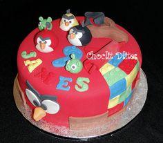 James' Angry Bird Lego cake | Flickr - Photo Sharing!
