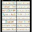 In my classroom we are working on Manners and Random Acts of Kindness.  I used this printable to cut apart and glue on wide popsicle sticks.  We ch...
