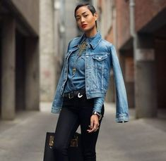 Spring Fashion, Denim, Jackets, Style, Fashion Spring, Swag, Stylus, Spring Couture, Cropped Jackets