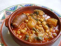 Recetas de Cocina Cubana y Postres deliciosos: Potaje de garbanzos