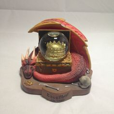 RARE Dragon Treasure Excalibur Hotel & Casino Las Vegas Snow Globe in | eBay