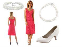 Rotes Kleid mit weißen Punkten + Outfit Tipps http://www.kleider-deal.de/rotes-kleid-mit-weissen-punkten-outfit-tipps/ #Rot #Kleider #Outfit #Fashion #Mode