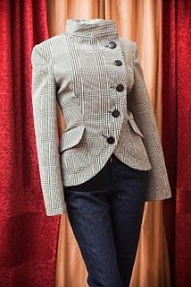 jacket. Love the cut, would be great in black or charcoal.