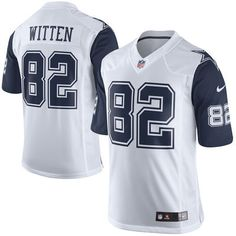 66f14195a Cowboys Mens Jason Witten Nike Color Rush Limited Jersey - White