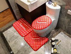 ルイヴィト 浴室足ふきマット gucci トイレ浴室マットエルメス方形マット3点セットU型トイレマット Next To Buy, Toilet Mat, Orange Carpet, Bathroom Carpet, Mirror Shapes, Horse Print, Luxury Bath, Stripes Fashion, Nordic Style