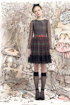 Sfilata RED Valentino New York - Collezioni Autunno Inverno 2013-14 - Vogue
