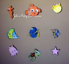 1 Finding Nemo Hanging party Decoration  message me if you