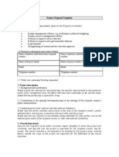 Project Proposal Template-LACMIC Project Proposal Template, Proposal Templates, Enhancement Pills