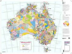 Map showing general location of larger Aboriginal groups across Australia