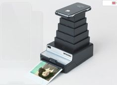 "Impossible Instant Lab - Just finishing their round of Kickstarter, The Impossible Instant Lab ""Transforms your digital iPhone images into real instant photographs that you can touch, caress and share with friends."" – It's basically a throw-back to the Polaroid camera, but of the future."
