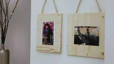 Cómo hacer soportes de madera para fotos #marcos #fotos