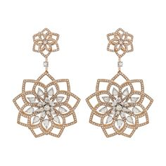 Lotus - Diamond Jewellery Collection by Nirav Modi Diamond Jewelry, Diamond Earrings, Stud Earrings, Earring Studs, Father And Girl, Jewel Box, Luxury Jewelry, Couture, Types Of Fashion Styles