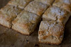 Maple Syrup Scones - you can easily use soy milk and shortening to make these vegan!