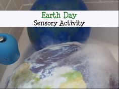 Earth Day Toddler and Preschool Sensory Activity Kindergarten Sensory, Sensory Activities For Preschoolers, Earth Day Activities, Preschool Classroom, Preschool Ideas, Classroom Decor, Teaching Ideas, Sensory Bins, Sensory Table