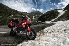 xBhp Rides the Best Road in the World : Mission Red Planet | Mission: Red Planet: MotoGrapher Rides to the World Ducati Week from Dubai to Italy