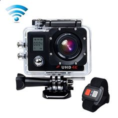 awesome Campark ACT76 Action Cam WIFI Sports Camera Ultra HD Waterproof DV Camcorder SONY Sensor and 2 Pcs Rechargeable Batteries