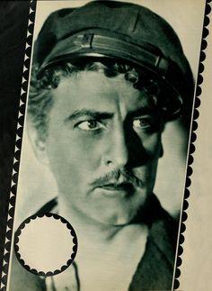 """John Barrymore en """"La Fiera del Mar"""" (Moby Dick), 1930"""