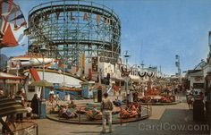 ROCKAWAYS' PLAYLAND Rockaway Beach New York Amusement Parks