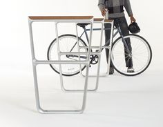 #BikeRack #multipliCITY, a collection of sustainable outdoor public furniture.