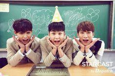 Hyunsik + Ilhoon + Eunkwang // BTOB