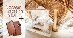 Win a Dreem vacation to Bali,  And 1 of 111 Dreem Fibonacci Wallet Cases for iPhone & Samsung!  + Magnetic Car Mount Get 22% off your next Dreem purchase in any case.