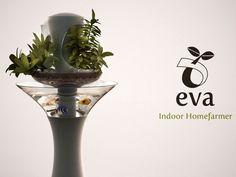 植物とお魚でエコサイクル。水槽一体型プランター「eva」
