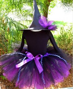 DIY kids witch tutu costume | ... Inspired Tutus are Great Alternative to Traditional Baby Costumes