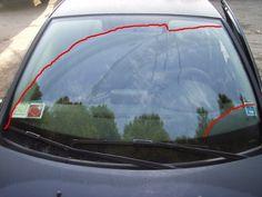#renaultclio Clio pulizia vetro anteriore