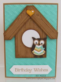 Owl House - Card - Video Tutorial!