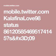 mobile.twitter.com KalafinaLove98 status 861205854695174145?s=09