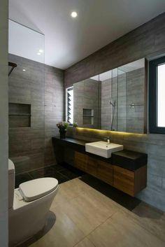 21 Beautiful Modern Bathroom Designs & Ideas | Modern bathroom ...