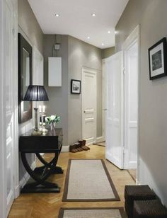 grey paint light floors