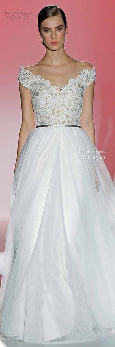 Hannibal Laguna: Barcelona Bridal Week Spring 2015